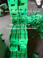 Fabricante de uhmwpe/pead porta guindaste partes/bloco de chinelo, polietileno pe peças de plástico