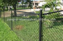 black 60*60mm chian link fence manufacture