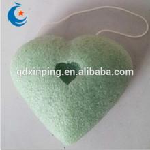 100% Natural Green Tea Konjac Sponge for Facial and Skin cleansing