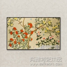 New Arrival Handmade Wall Mural Oil Paintings