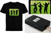Sound Activated Led T Shirt,Led Flashing T Shirts