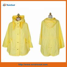 Promotional waterproof nylon rain poncho 2014 new