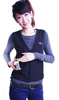 Rechargeable Li-on Battery Warm Vest/Jacket Working in Cold Weather