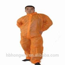 Disposable non-woven/PP/SMS/PP+PE/SF disposable fire retardant cotton coverall