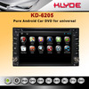 6.2inch universal pure android 4.2 car dvd player