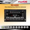 Pure Android 4.2 car dvd gps with 6.2inch universal car dvd