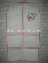 customized dance costume garment bag,dance costume garment bag,wedding dress cover bag