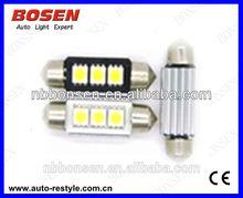 CANBUS C5W 39mm 1039-6SMD-5050 high quality car led bulb,auto led indoor light 12v