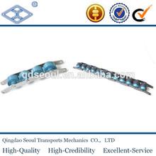 free flow C2080W ptich 50.8 long ptich plastic large roller double-plus speed conveyor chain
