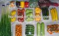 verduras línea de llenado