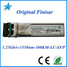 Original Finisar SFP FTRJ1619P1BCL 1.25Gbps 1550nm 100km Finisar fiber optic module intel high definition audio drivers