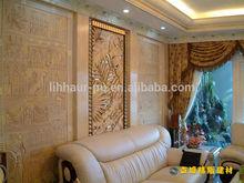 High quality indoor decorative wall board/ pu wall art