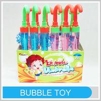 Children Promotional Soap Kids Outdoor Bubble Game Umbrella Design