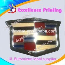 hot sale self adhesive car sticker logo