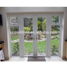 High quality pvc horizontal veranda sliding windows and doors