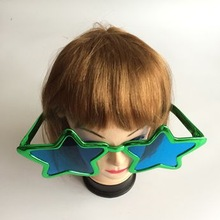 party glasses /star shaped party glasses /party colored glasses cheap