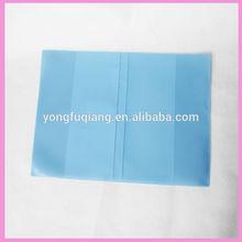 shiny color special design pvc book cover