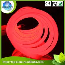 outoor led neon flex,high brightness led tube light 80 leds/meter red color flex neon