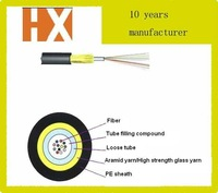 KEVLAR tape network fiber optic cable JET 4 core for outdoor and indoor universal used