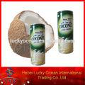 frutas de agua de coco con pulpa