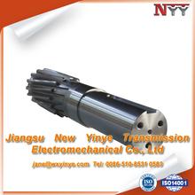 External teeth grinding gear shaft
