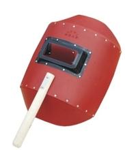 Mão Groundwood papel máscara de solda capacete de soldagem / solda escudo