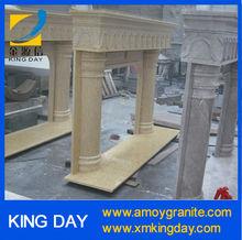 column fireplace / fireplace mantel (Competitive Price)