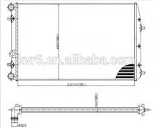Radiator For VW,OEM:6Q0.121.253 L/6Q0.121.253 Q/6Q0.121.253 R