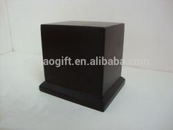 MDF base for sculpture,wooden trophy base for sculpture