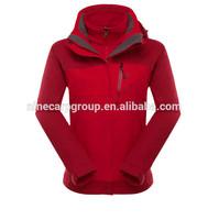 Women waterproof winter riding jacket