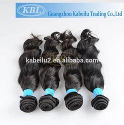 One Donor black hair bun pieces