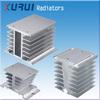 aluminium led heat sink radiator / heatsink heat sink for 10-100a ssr solid state relay / ssr heat sink