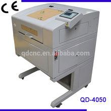 Plastic logo laser engraving machine/arts and gifts laser engraving cutting machine QD-4050