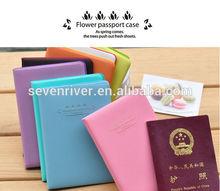 Newest style lovely passport cover/ travel passport holder/air ticket holder
