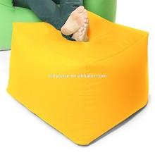 Yellow Outdoor Furniture Seating Ottoman Stool Seat outdoor/indoor waterproof