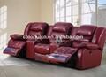 أفضل كرسي أريكة جلدية/ أريكة غرفة المعيشة/ ls627 الكهربائي كرسي أريكة