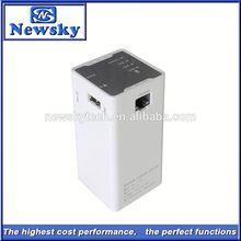 Unlocked Newsky adsl 3g modem lan with power bank