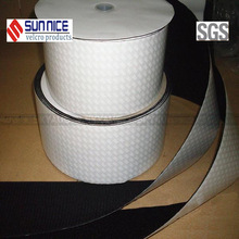 black/white adhesive velcro 150mm tape for furniture/clothing