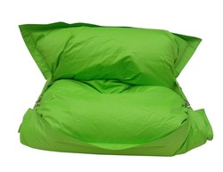 Giant outdoor buggle up bean bag - Fern Green