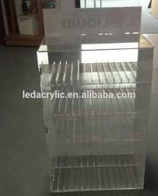 clear eliquid display stand 5-tier rack organizer