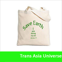 Hot Sell Plain White Cotton Canvas Tote Bag