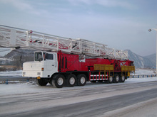 XJ250 oil well truck mounted workover rigs
