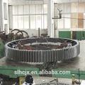 fundición de gran anillo de acero fabricante de engranajes