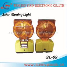 led solar flashing warning lights