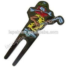 Golf Divot Tool with Unique Custom Logo