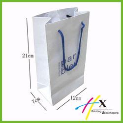 Christmas x'mas glitter 3D paper bag
