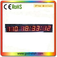 super brightness 7-segment large led countdown clock timer