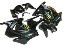 Motorcycle Kawasaki EX250 Body Parts For Kawasaki ZX250 EX250 Ninja 2008-2010 Fairing ZX250 08-10 EX250 Bodywork Body Kit