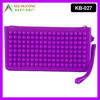 Jelly Wallet Purse,Silicone Shopping Purse,Silicone Change Purse