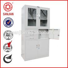 SJ-043 office furniture 3 drawer steel filing cabinet office locker